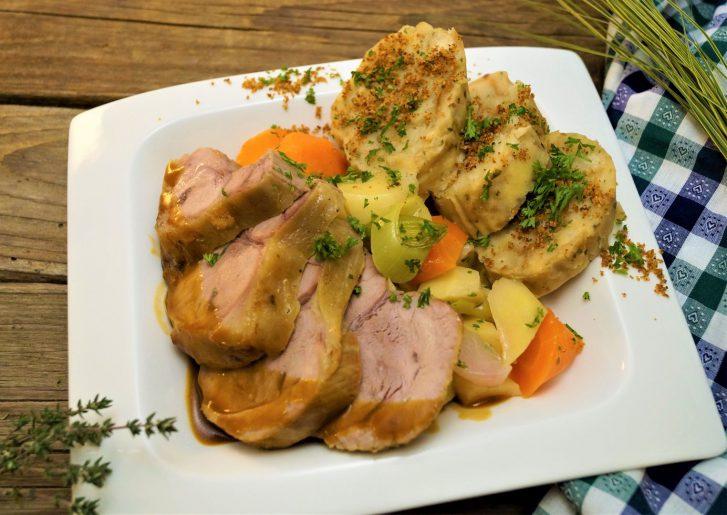 KücheDaheim - Kalbshaxen-Gericht