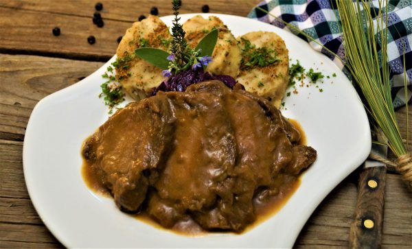 KücheDaheim - Sauerbraten-Gericht