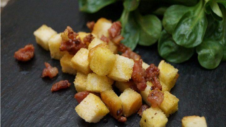 KücheDaheim - Speck & Croutons