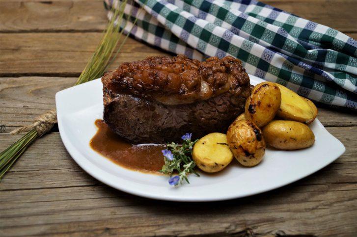 KücheDaheim - Roastbeef mit Beilagen