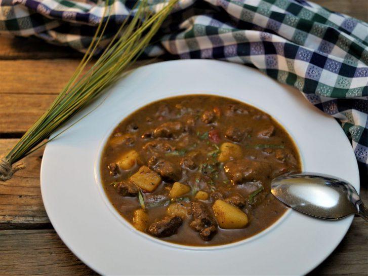 KücheDaheim - Wildgulaschsuppe