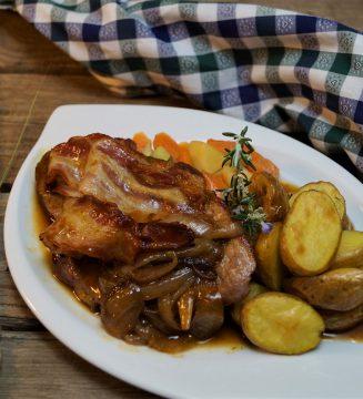 KücheDaheim - Winzersteak mit Beilagen