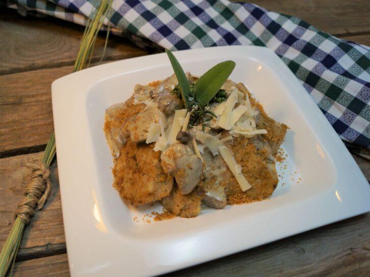 KücheDaheim - Vegetarische Serviettenknödel