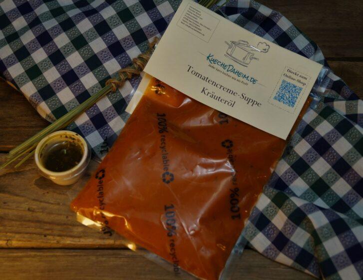 KücheDaheim - Tomatencreme-Suppe